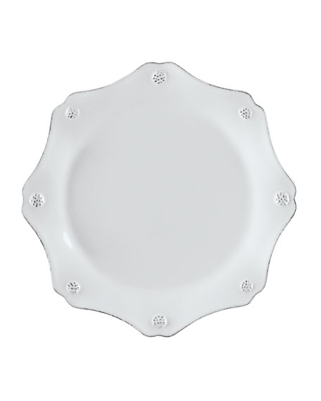 Berry & Thread Scalloped Salad Plate