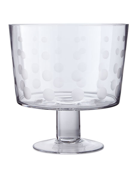 """Cheers 8"""" Footed Dessert Bowl"""