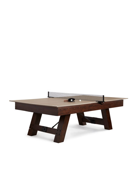 Riviera Pool Table with Table Tennis Conversion Kit