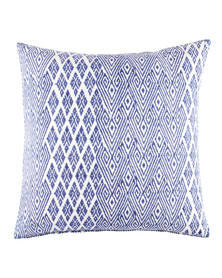 "Nagra Iris Pillow, 26""Sq."