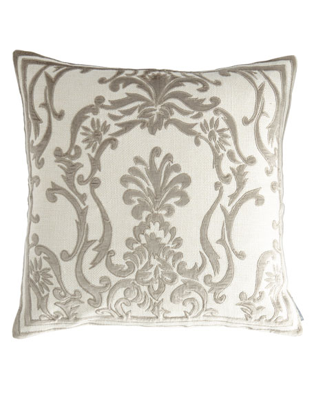 Louie Ivory Basketweave Pillow