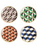 Versailles Coasters, 4-Piece Set