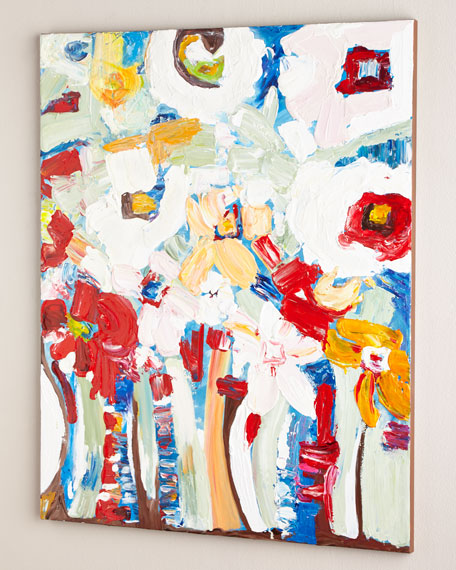 """Jessie's Bouquet"" Original Acrylic Painting"