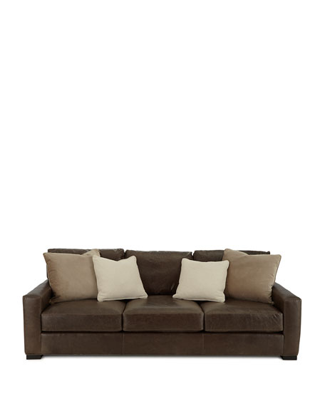Rappold Leather Sofa