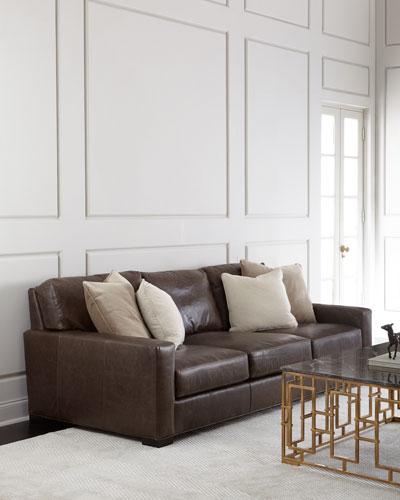 Rappold Leather Sofa