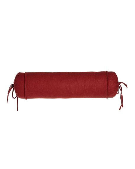 """Granada Paprika Neckroll Pillow, 6"""" x 20"""""""