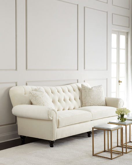 Perla Tufted Sofa 94""