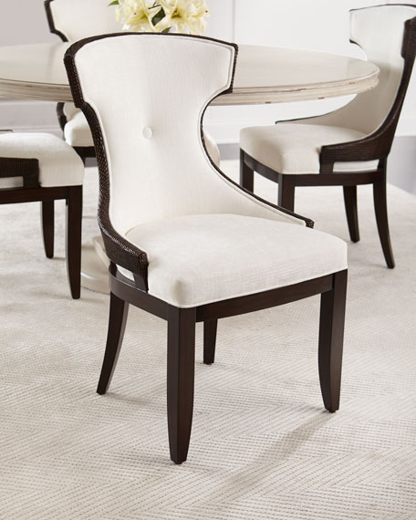 & Palecek Rhoda Wicker Dining Chair