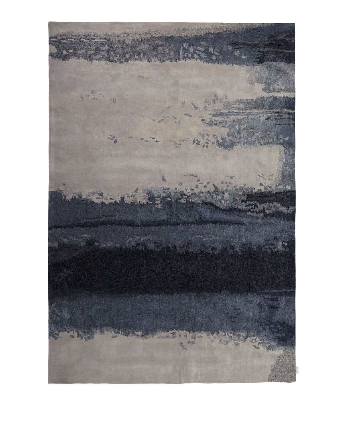 Blue Luster Rug 8 3 Quot X 11