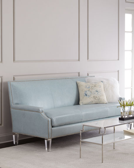 Tidewater Leather Sofa