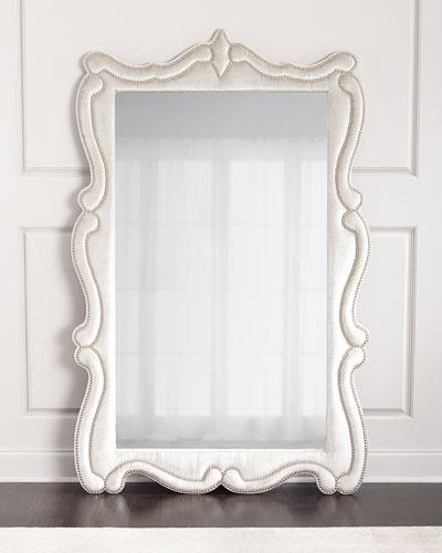Silver Antoinette Floor Mirror