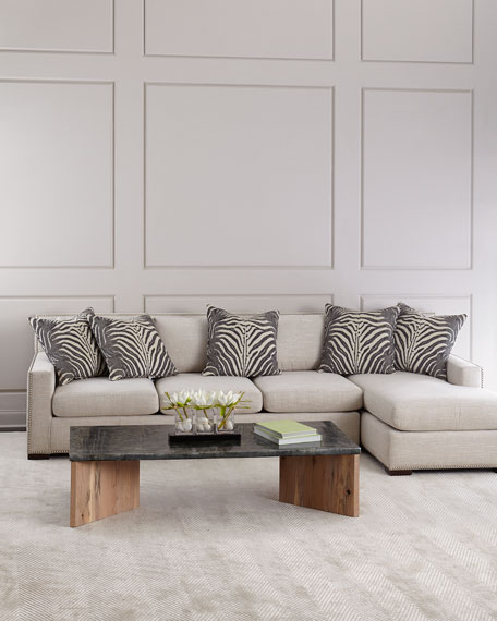 Zanzibar Right Chaise Sectional Sofa