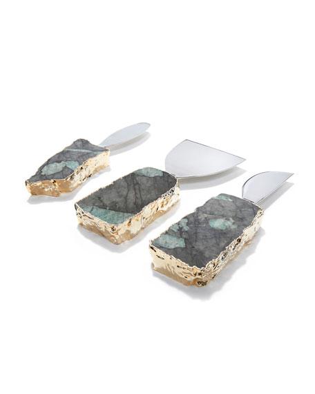 Kiva 3-Piece Cheese Set