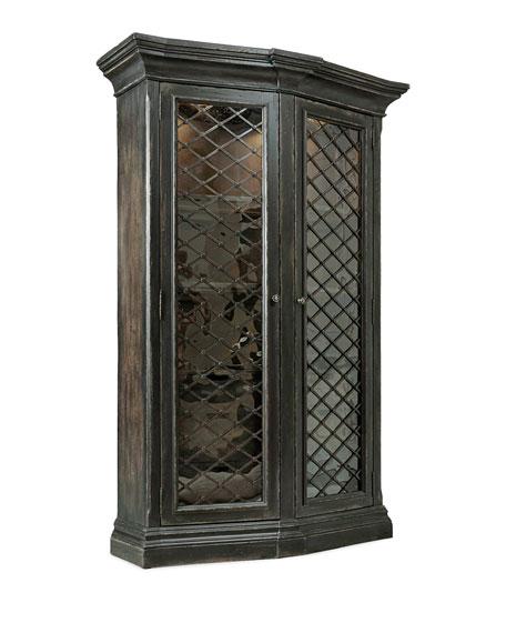 Vetrano 2-Door Display Cabinet