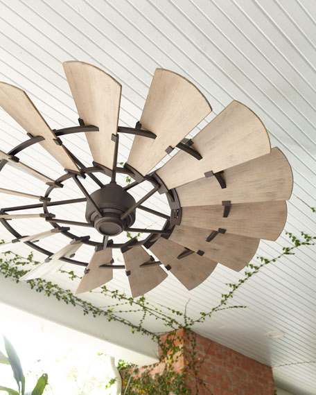 Windmill Bronze 60 Quot Outdoor Ceiling Fan