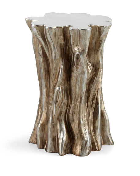 Attirant Tree Stump Accent Table