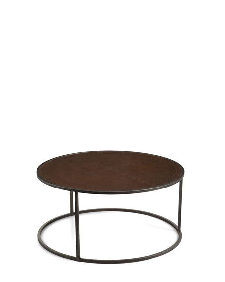 Beautiful Bruno Copper Nesting Tables