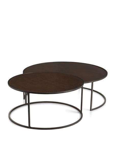 Superior Bruno Copper Nesting Tables