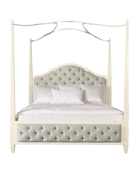 Natalie Queen Tufted Canopy Bed  sc 1 st  Horchow & Bernhardt Natalie Bedroom Furniture