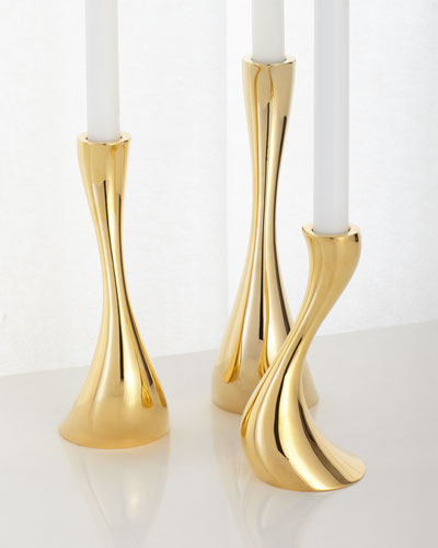 Cobra Candleholders, Set of 3