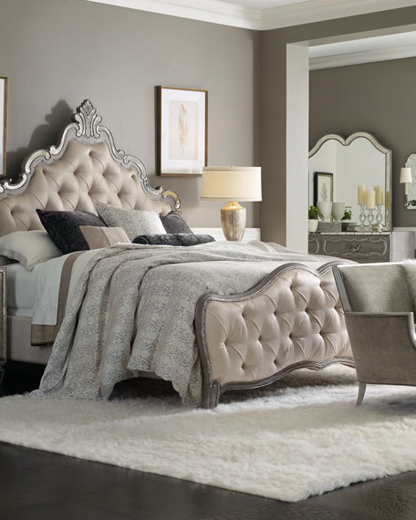 Matrimonio Bed Beda : Hooker furniture juliet tufted king panel bed