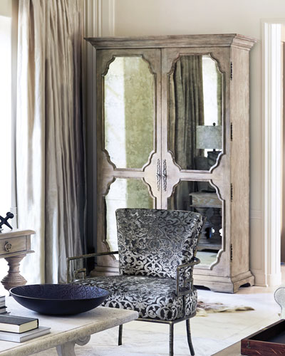Campania Mirrored Armoire