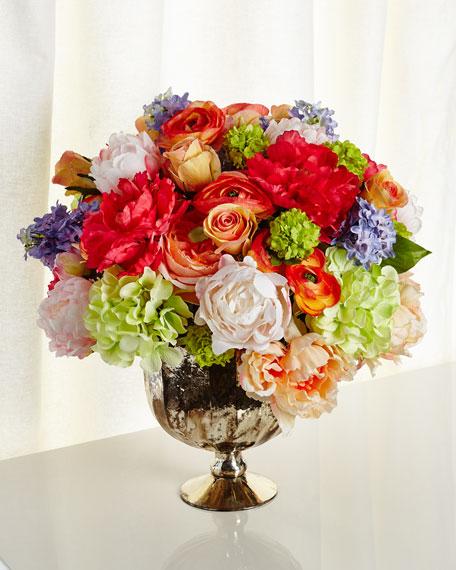 Kaleidoscope Faux-Floral Arrangement
