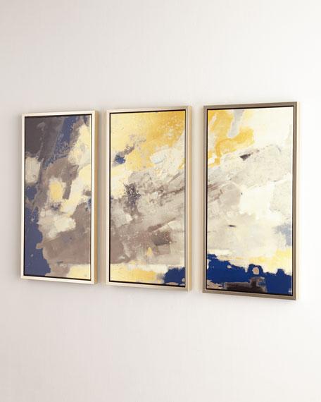 """My Blue Horizon"" Giclees, Set of 3"