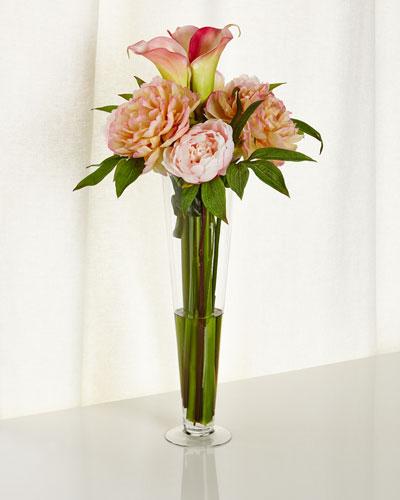 Parfait Faux-Floral Arrangement