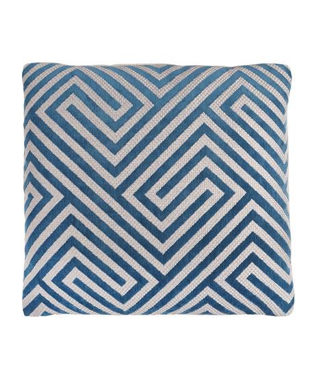 Luke Turquoise Pillow