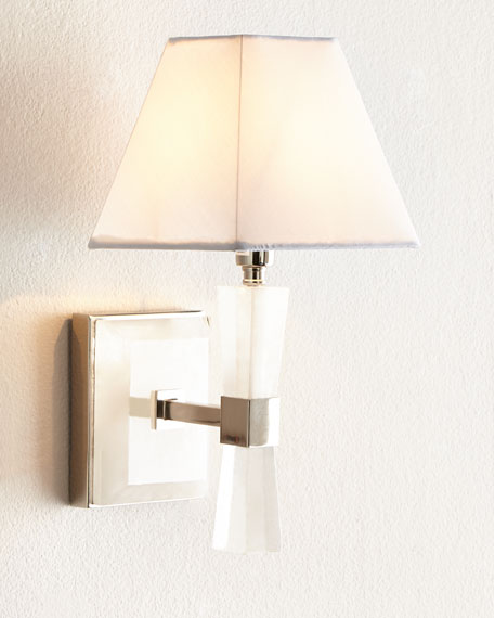 Quartz 1-Light Sconce