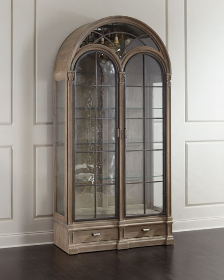 Ciarrocchi Display Cabinet w/ Chandelier