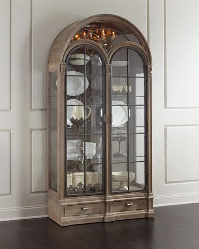 Ciarrocchi Display Cabinet w/ Chandelier