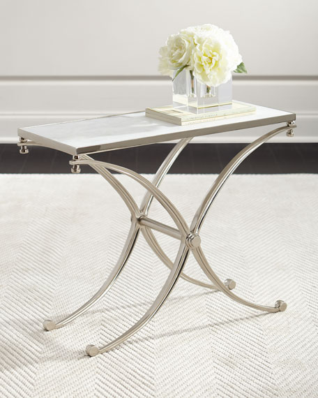 JAMESON STONE SIDE TABLE