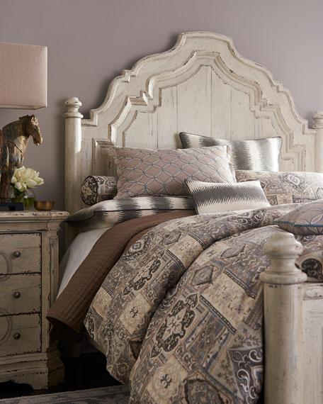 Adelina Queen Panel Bed