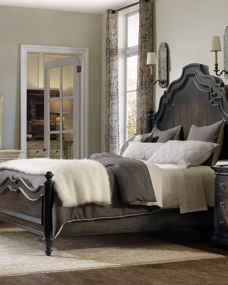 Annibale Queen Panel Bed