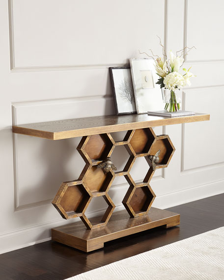 John Richard Collection Bumble Bee Console Table