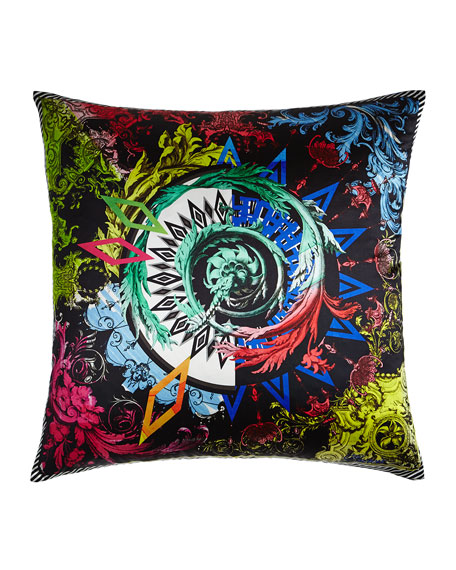 Barock and Roll Reglisse Pillow