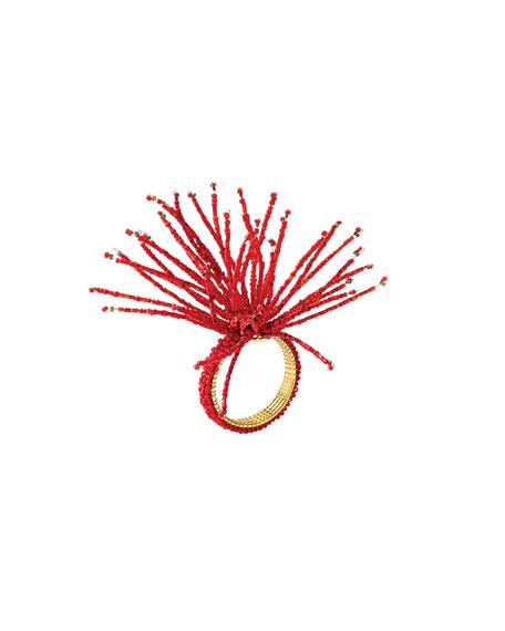 Spider Beaded Napkin Ring