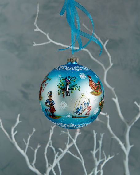 12 Days of Christmas Ornament