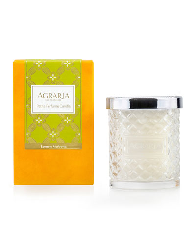 Lemon Verbena Crystal Cane Candle  3.4 oz.