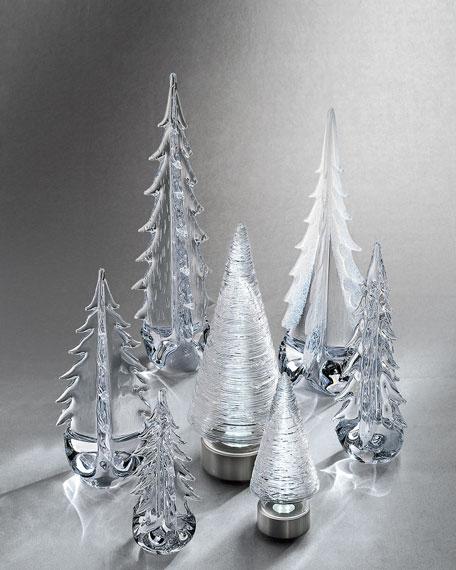 "Evergreen 14"" Glass Tree"