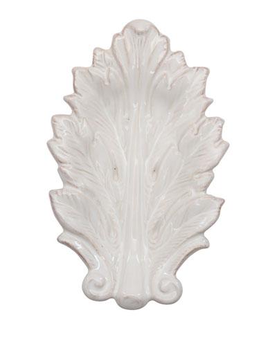 Acanthus Whitewash 7 Leaf Tray