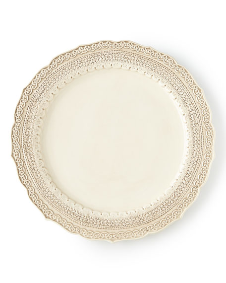Finezza Cream Dinner Plate
