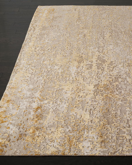 Riley Hand Knotted Rug, 6' x 9'