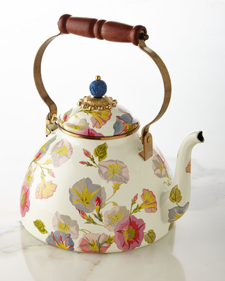 Morning Glory 3-Quart Tea Kettle