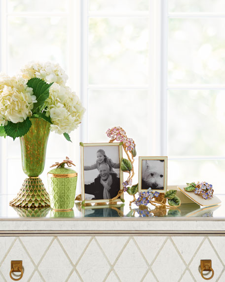 "Colbie Hydrangea Picture Frame, 3"" x 4"""