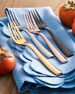 20-Piece Delano Rose Gold Flatware Service
