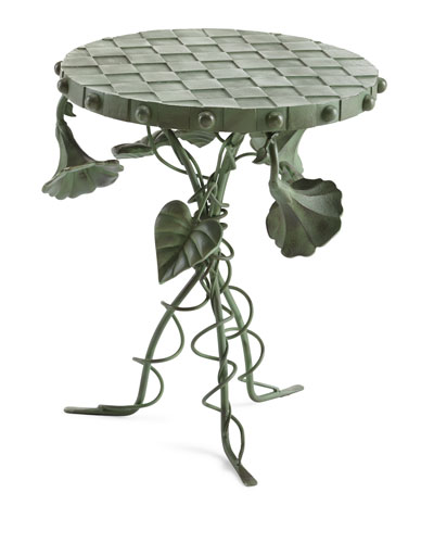 Morning Glory Accent Table