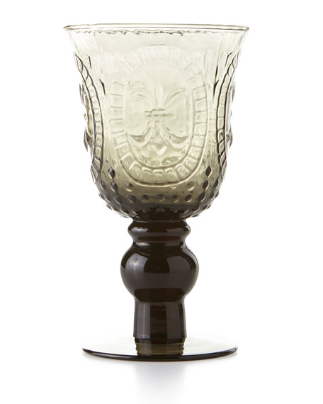 Smoke Renaissance Goblet, Set of 4